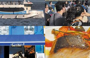 Exclusivo menú para 2 personas + paseo en barco por 39.9€
