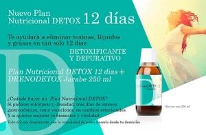 Plan nutricional Detox + bote de DrenoDetox Complex