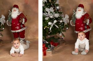 MINI Sesión Christmas + 5 fotos en papel por 10€