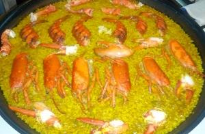 Menú de arroz caldoso con bogavante 2 px