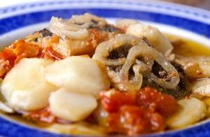 Exquisito menú portugués para 2