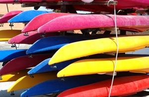 3 horas de ruta en canoa