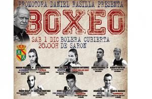 Entradas para boxeo, en la bolera cubierta de Sarón, el 1 de diciembre desde 9.9€