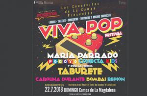 Entradas para Viva Pop en la Campa de La Magdalena