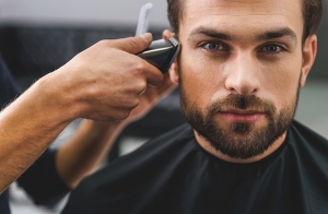 Corte de pelo chico + arreglo de barba