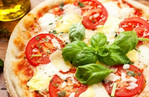 Pizza mediana o familiar
