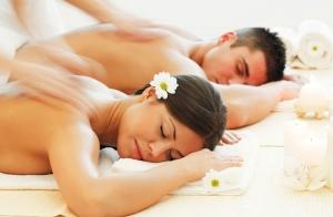 Masaje relajante en pareja