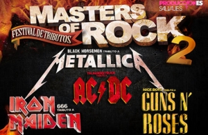 Entradas Tributos 'Masters of Rock'