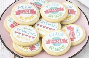 Galletitas y cupcakes para mamá