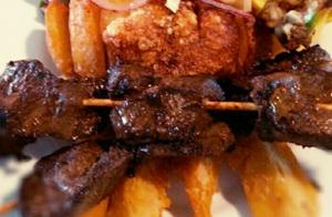 Las brasas de la Mar Brava: Menú de carnes para dos personas