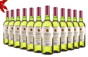 3, 6 o 12 botellas de vino blanco Conde de Argaiz