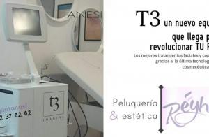 Completo tratamiento facial T3 con punta de diamante