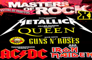 Entradas para Masters of Rock Festival en Santander el 16 de febrero a las 21:30h.